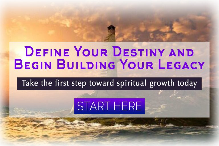 Define Your Destiny and Begin Building Your Legacy